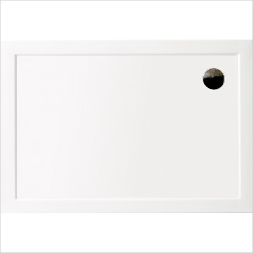 Aqata - Rectangle Low Level Shower Tray, 1000x800mm